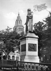 Gutenburg Monument c.1930, Mainz
