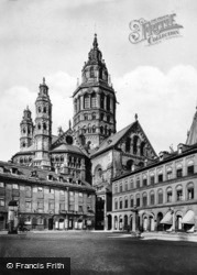 The Cathedral c.1930, Mainz