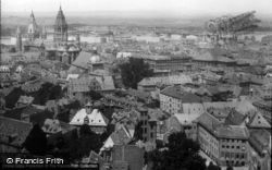 The Cathedral From St Stephen's 1886, Mainz