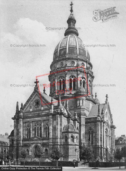 Photo of Mainz, The Christuskirche c.1930