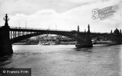 The Rhine Bridge c.1930, Mainz