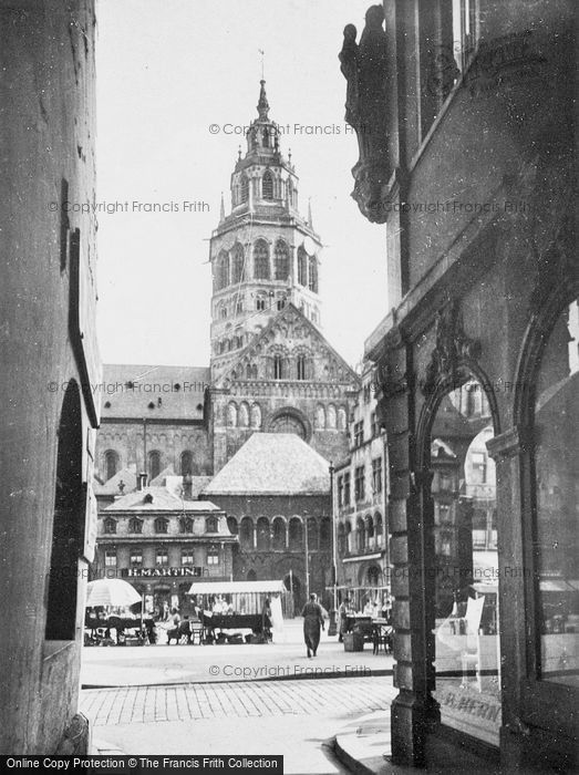Photo of Mainz, View Of The Cathedral c.1930