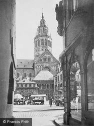 View Of The Cathedral c.1930, Mainz