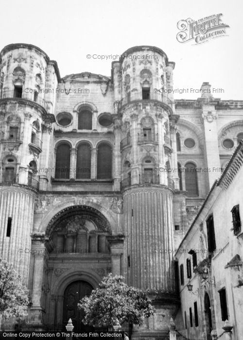Photo of Malaga, Cathedral 1960