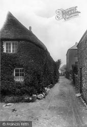 Malborough, Church Gate 1927