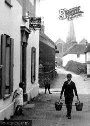 Malborough, The Village Inn 1927