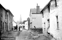 Malborough, Village And Church 1890