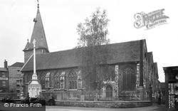 Maldon, All Saints Church And War Memorial 1921