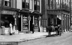 Maldon, Butchers, High Street 1906