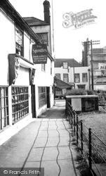 Maldon, Church Walk c.1965