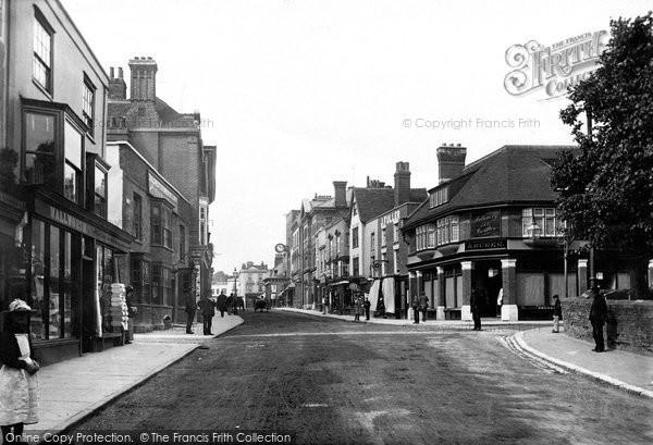 Maldon, High Street 1891