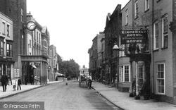 Maldon, High Street 1898
