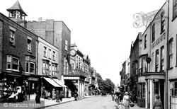 Maldon, High Street 1921
