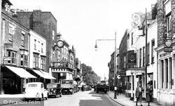 Maldon, High Street And Moot Hall c.1950