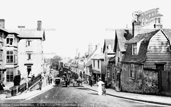 Maldon, Market Hill 1909