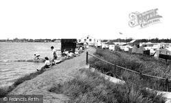 Maldon, Mill Beach Camp c.1955