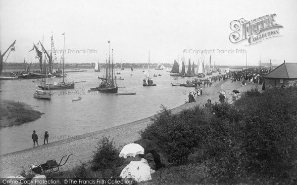 Maldon, River Blackwater 1895  (Neg. 35657)  © Copyright The Francis Frith Collection 2005. http://www.francisfrith.com