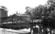 Maldon, Spital Road Pond 1909