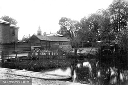Maldon, Spital Road Pond 1909