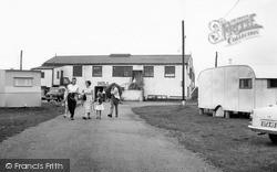 Maldon, The Caravan Park, Mill Beach c.1960