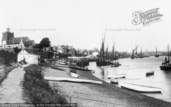Maldon, the Hythe 1891.  (Neg. 29077)  © Copyright The Francis Frith Collection 2005. http://www.francisfrith.com