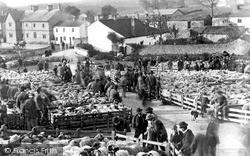 A Sheep Sale On The Green c.1910, Malham