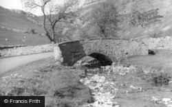 Gordale Bridge c.1939, Malham