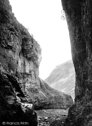 Gordale Scar c.1881, Malham
