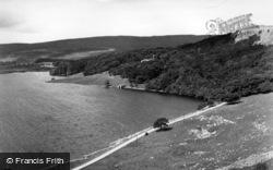 Malham, Malham Tarn And Tarn House c.1955