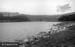 Malham, Malham Tarn c.1955