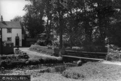 The Footbridge c.1939, Malham