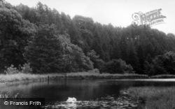 Malham, The Mill Dam c.1955