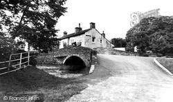 The River And Bridge c.1960, Malham