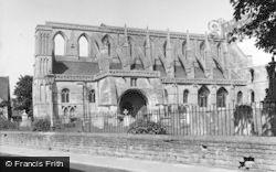 Malmesbury, Abbey 1955