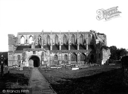Malmesbury, Abbey South Side 1924