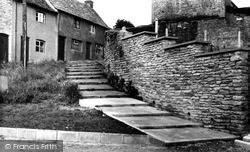 Back Hill Steps c.1960, Malmesbury