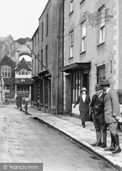 Malmesbury, Gentlemen In High Street 1924