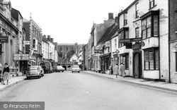 High Street c.1960, Malmesbury