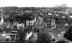 Malmesbury, Looking Towards The High Street c.1955