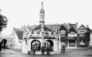 Malmesbury, Market Cross 1924