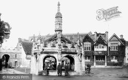 Market Cross 1924, Malmesbury