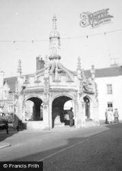 Malmesbury, Market Cross 1959