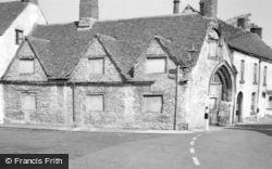 Malmesbury, St John's Almshouses 1959