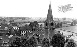 Malmesbury, St Paul's Church Tower From Abbey Roof c.1955