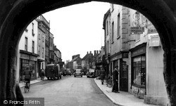 Malmesbury, The Market Cross c.1955
