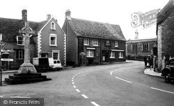 Malmesbury, The Triangle c.1960