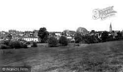 View From Daniel's Well c.1955, Malmesbury