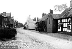 Malpas, High Street 1898