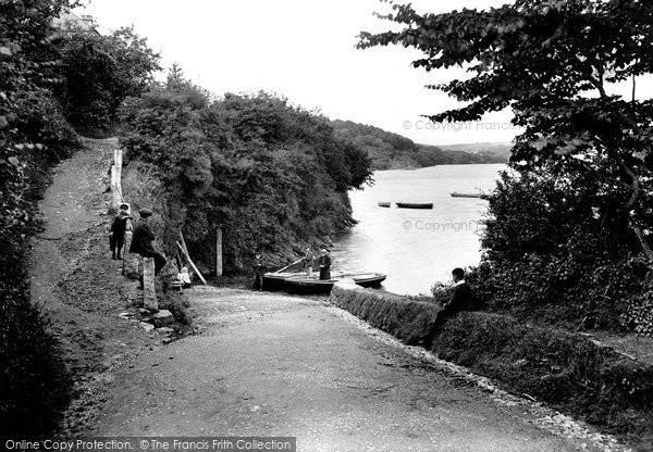 Truro, Malpas Ferry and Tresillian River 1912