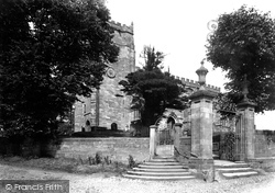 Malpas, St Oswald's Church 1898